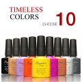 (Choose 10 ) Sapphire Gel The Best Gel Polish 7.3ml Color Bottle Soak Off Nail Gel Polish14 Days Lasting 80 Brilliant Color