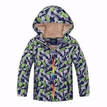 Warm Winter Child Coat Windproof Baby Boys Jackets Casual Children Outerwear Clothing For 3-12 Years Old Waterproof Index 5000mm Outwear & Coats