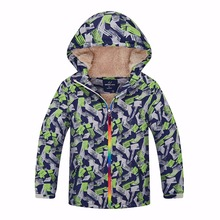 Warme Winter Kind Mantel Winddicht Baby Jungen Jacken Casual Kinder Oberbekleidung Kleidung Für 3 12 Jahre Alt Wasserdicht Index 5000mm