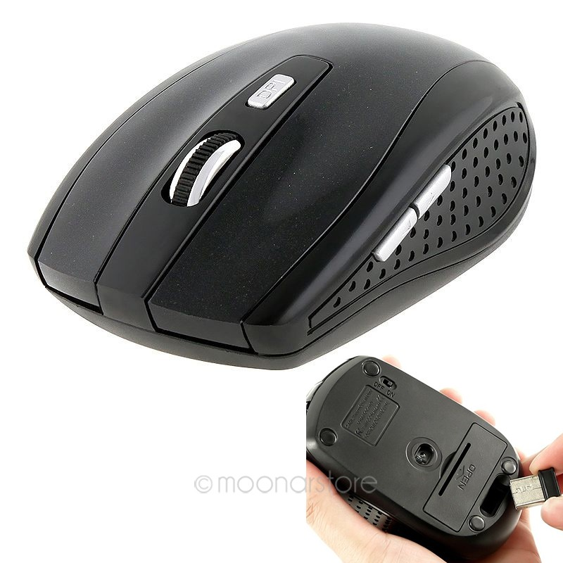 969d78c9753 2.4GHz USB Optical Wireless Mouse USB Receiver Mice Cordless Game Computer  PC Laptop Desktop Without Battery