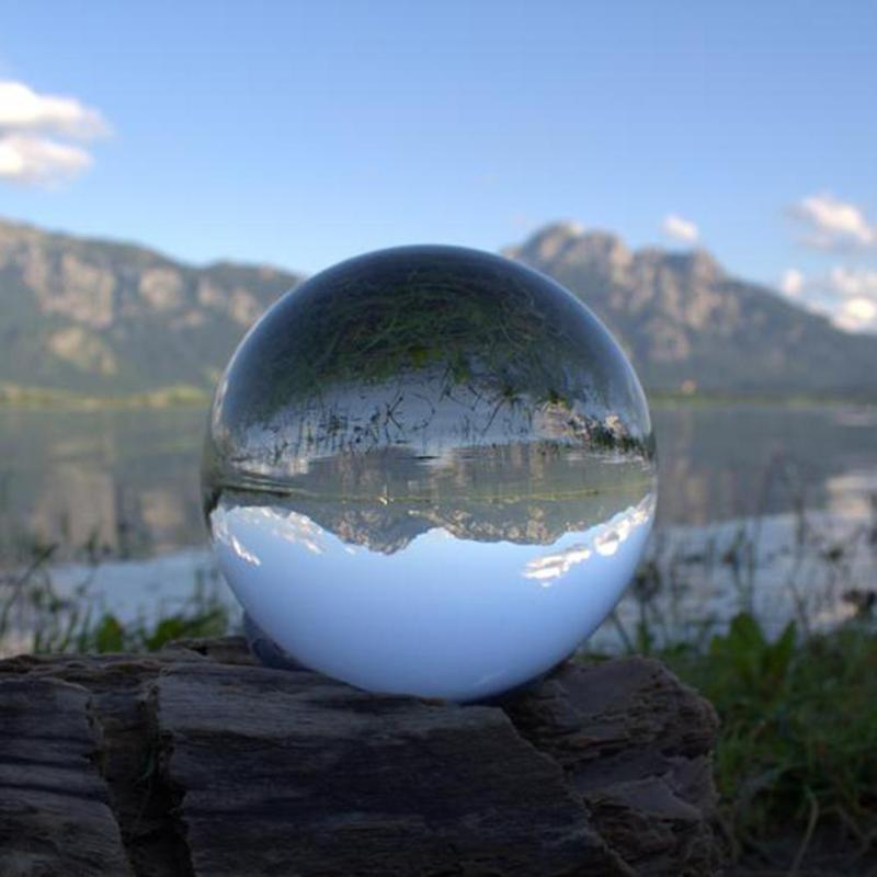 Artificial Crystal Ball Healing Glass Ball Sphere Decoration Ornaments Gifts Chinese Style Feng Shui Decorating Ball 2sizes Decorative Balls     - title=