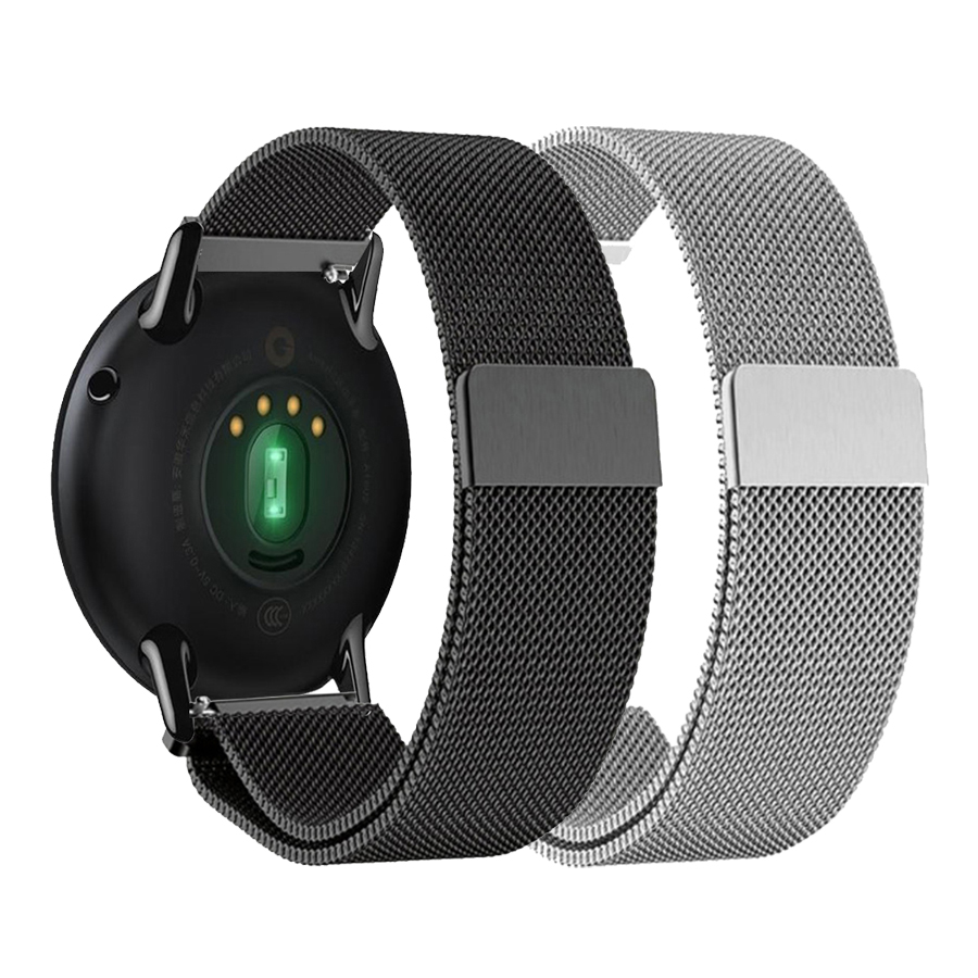 22mm Metal Strap For Xiaomi Huami Amazfit Pace/Stratos 2 2S Stainless Steel Milanese Bracelet For Huawei GT Magic Watch Band