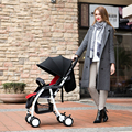 Folding Baby Stroller Portable Baby Carriage Light Weight Pushchair Bording Travel Pram