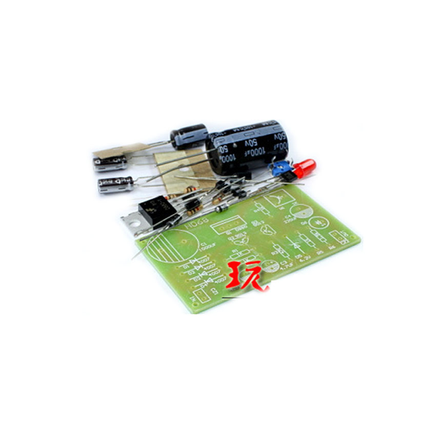 5pcs/lot Diy Electronics Transistor Tandem Type Regulated Power Supply Kit Transistor Tandem Type Regulated Power Supply Kit
