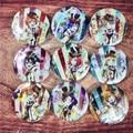 58MM LoveLive Magician Awaken KOTORI UMI NICO MAKI ELI HANYO RIN TOJO Honoka Badge Pin BUTTONS Back Anime Collections LLS9
