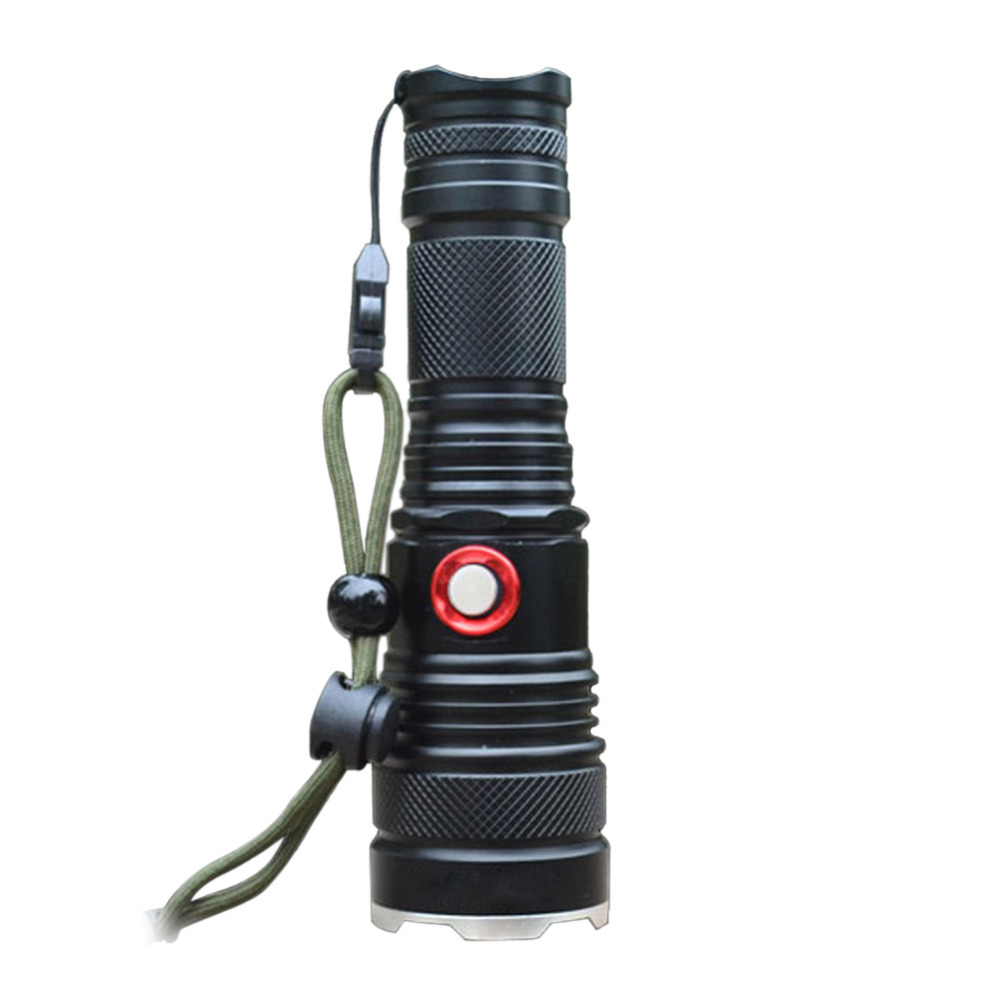 3000 Lumens Skid-proof Design CREE XML-T6 LED Flashlight Torch Lamp Camping Light for 1 x18650 Battery or 1 x 26650 Battery 2015 new skyray 20000 lumens 16x cree xml t6 led flashlight torch 18650 lamp for camping hiking
