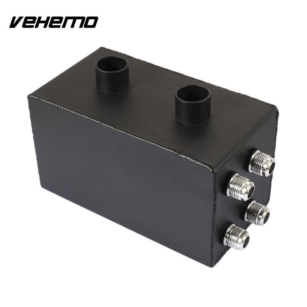 Vehemo alliage d'aluminium noir réservoir de carburant filtre boîte pompe à huile bouchon réservoir moteur course réservoir pour pour Honda Premium capteur