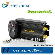 Real time vehicle gps tracking device with acceleration alarm Quad Band software Small Gps Tracker with backup battery TK103B
