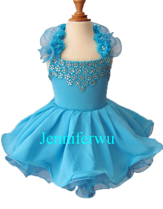 15 color available  Flower girl dresses Baby Girl clothes infant pageant dresses  1T-6T G134 купить