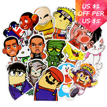 50Pcs Anime Cartoon Stickers For Suitcase Skateboard Laptop Cell Phone Motorcycle Bicycle Car Accessories Waterproof