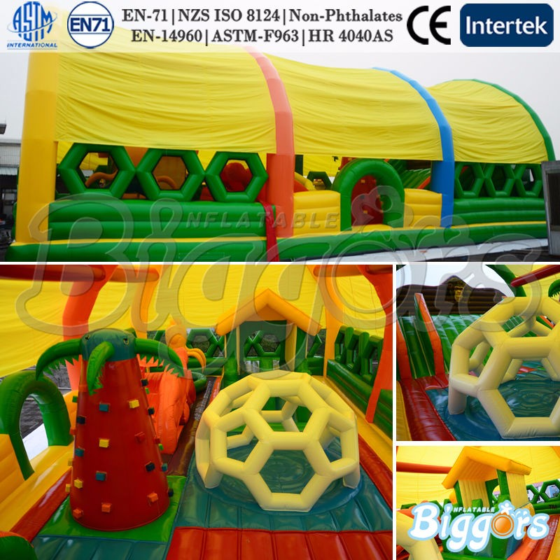 5019 inflatable bouncy house--YARD