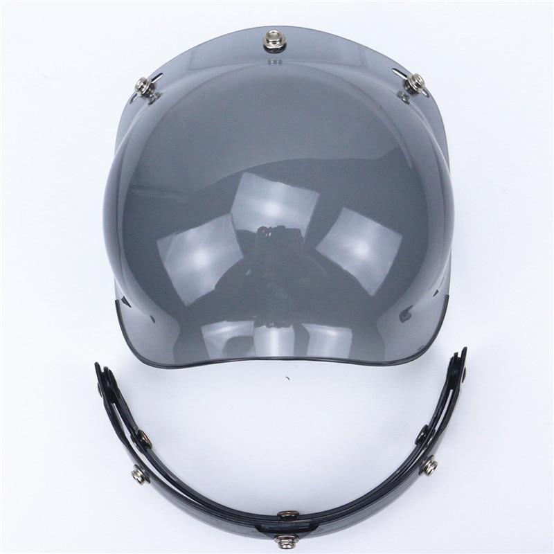 Vysoce kvalitní přilba na přilbu Bubble Visor UV 400 ochrana - Příslušenství a náhradní díly pro motocykly