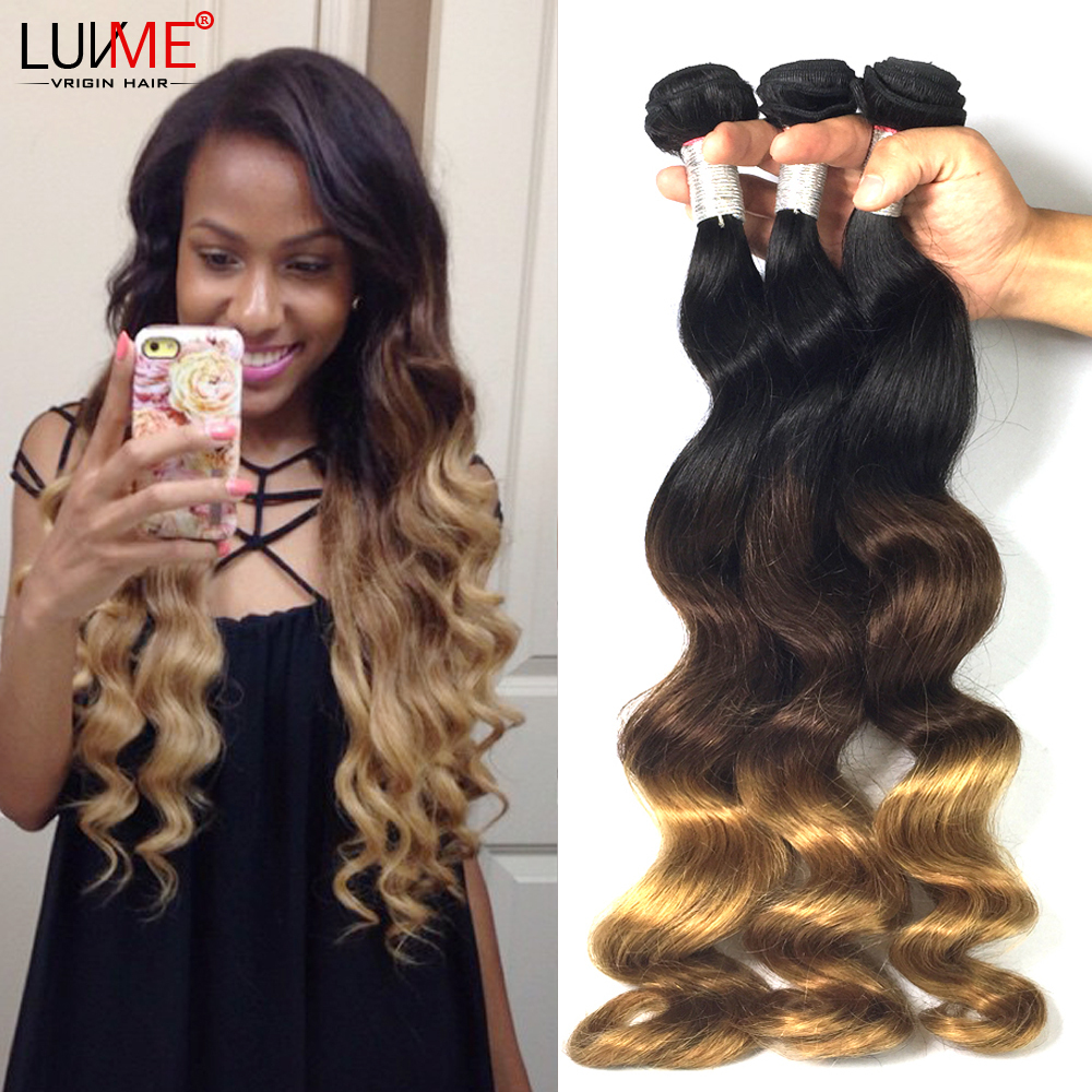 8a peruvian virgin hair loose wave 3 tone ombre hair extension 8a peruvian virgin hair loose wave 3 tone ombre hair extension 3pcs 4 pcs luvme hair quality guarantee shipping free in hair weaves from hair extensions pmusecretfo Gallery