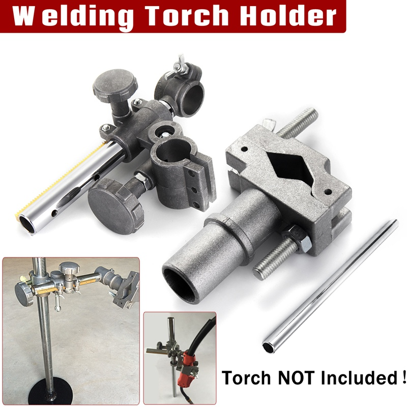 Forgelo Mini Welding Torch Holder Support Holder Clamp Mountings Stand for MIG MAG CO2 TIG Welding Machine Welding Positioner welding positioner turntable accessories welding torch holder support torch clamp mountings stand torch holder
