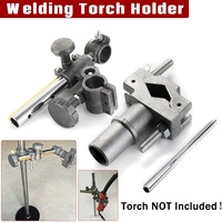 Forgelo Mini Welding Torch Holder Support Holder Clamp Mountings Stand for MIG MAG CO2 TIG Welding Machine Welding Positioner