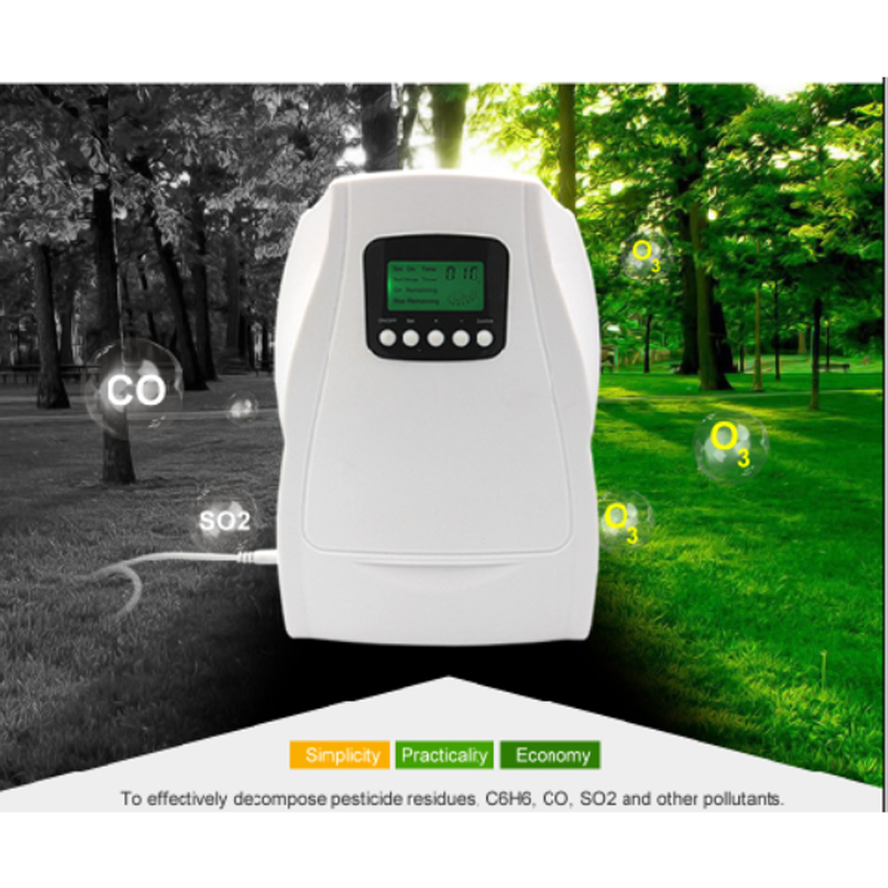 Ozone Generator Air Purifier Disinfector 500mg Multipurpose Air Water Sterilizer with Tube Air Stone Best Home