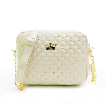 Mara's Dream Small Women Bag Fashion Handbag With Crown Mini Rivet Shoulder Bag Women Messenger Bag 2019 Hot Sale