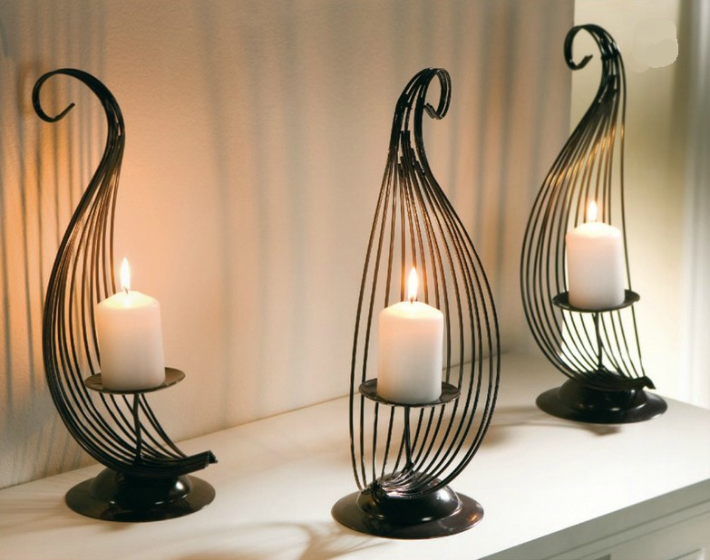 Modern Candle holder home decoration candlebrela christmas ...