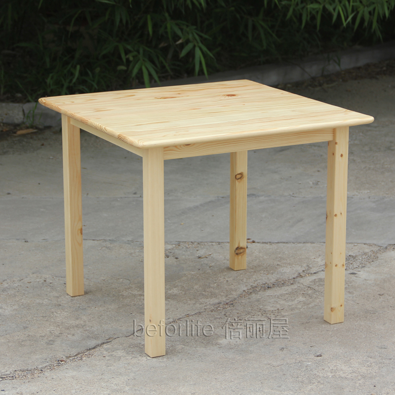 IKEA Style Wood Tables Square Table For Children To Learn Tables Of Solid Wood  Pine Coffee Table Z 010 In Nail Tables From Furniture On Aliexpress.com ...
