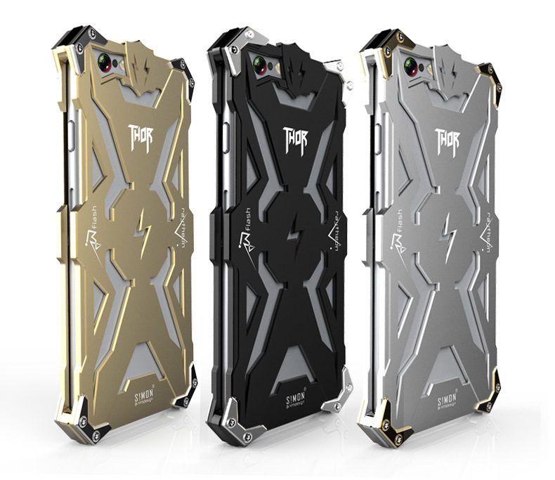 For APPLE Iphone6/6s plus case Energy Armor Amazing Design Waterproof Shockproof aviation Aluminum alloy metal shell 5.5