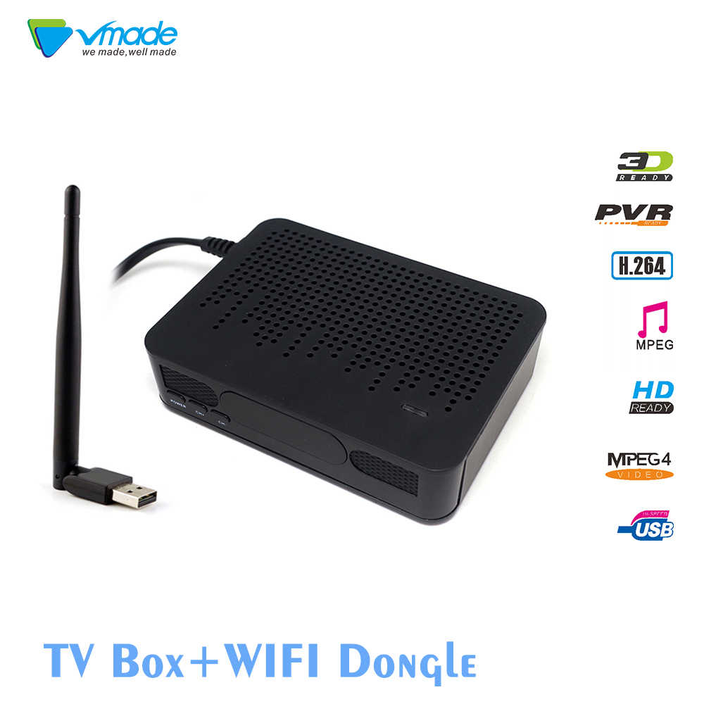 Vmade DVB T2 K3 Receiver HD Digital TV Built in WiFi software, choose USB  WiFi package, you can realize wireless WIFI Internet