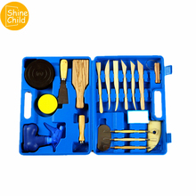 DIY Professional Fimo Tools Soft Polymer Clay Wood Carving Tools Sculpture Slime Gadget Charm Model Bag Kits For Art Students цена