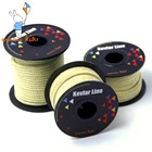Kites Accessories 100-2000lbs Braided Kevlar Line Kite Line String Strong Multifunctional Fishing Line Camping Hiking Cord