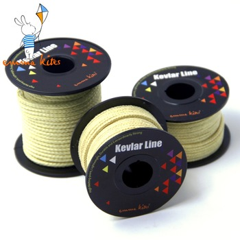 Latawce akcesoria 100-2000lbs pleciony Kevlar linka do latawca String mocny wielofunkcyjny przewód do wędkowania Camping piesze wycieczki z plecakiem tanie i dobre opinie emmakites Z włókna kevlarowego 8 lat KT5581-KT5598 Kite reel bag Unisex Długi Pojedyncze Kevlar Line