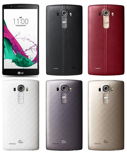 340ac59c4 Original Unlocked LG G4 H815 H818 F500   H810 Hexa Core Android 5.1 3GB ROM  32GB