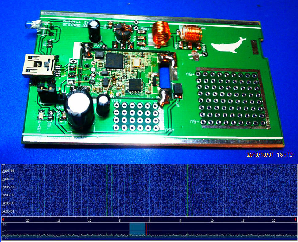100 KHz-1.7 GHz DIY KITs full bande UV HF RTL DTS USB Tuner récepteur R820T RTL2832U + R820T CW FM VHF UHF SUIS + antenne