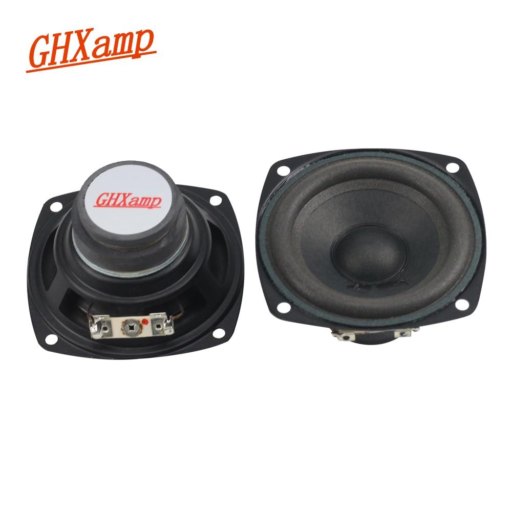 GHXAMP For ALTEC 3 inch 8OHM 10W Full Range Speakers Tube Machine Multimedia Speaker Computer PC Sub-box PC Speaker DIY 2PCS