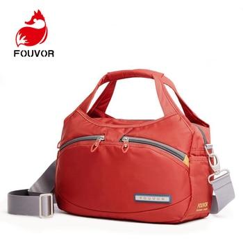 Fouvor Brand Women Casual Tote Bags Messenger Bag Waterproof Men Belt Bag Oxford Zipper Bag Crossbody For Male DropShipping tote bag