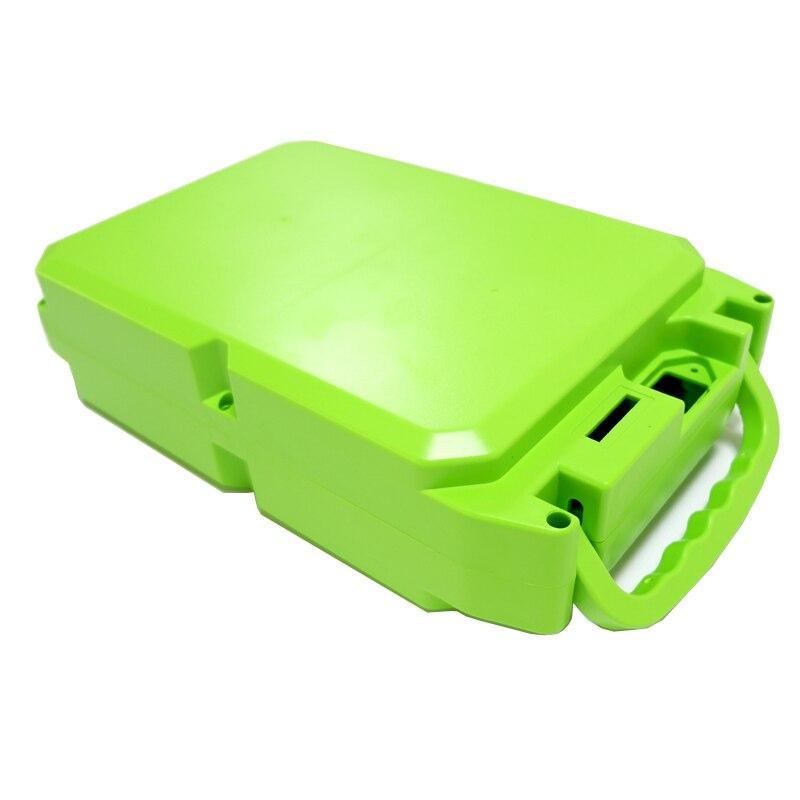 E-bike boîtier de batterie au Lithium pour 18650 batterie comprend un support et le nickel peut être placé 104 pièces cellules - 2