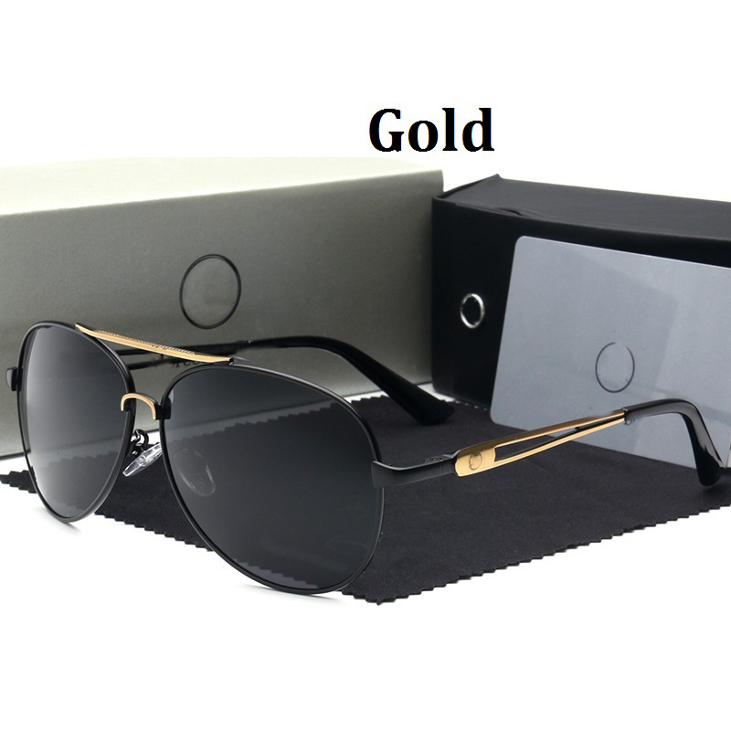Polarized Sunglasses Mercedes Designer SunGlases tenis feminino women brand designer lunettes de soleil homme 612