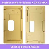 Ön Cam/w Çerçeve LCD Pozisyon kalıp Için iphone 6 6S 6P 6SP 8 8P X XS XR XS MAX hizalama kalıp konumu kalıp Için iphone X XS