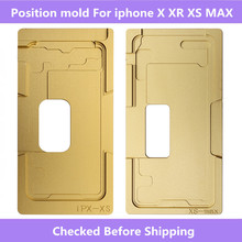 Front Glass /w Frame LCD Position mold For iPhone 6 6S 6P 6SP 8 8P X XS XR XS MAX  alignment mold location mould For iphone X XS