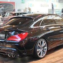 Подходит для Mercedes-Benz CLA W117 CLA250 CLA45 Piecha углеродного волокна задний спойлер заднего крыла