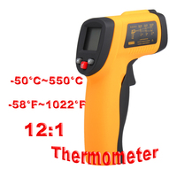 Non Contact Digital IR Infrared Thermometer 50 550C