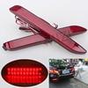 2PCS LED Rear Bumper Reflector Light Parking Warning Stop Brake Lights Tail Light For Toyota Camry