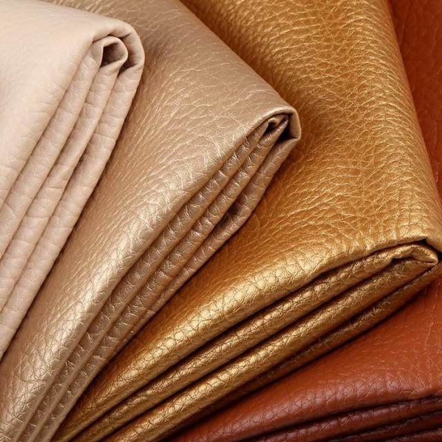 50X68cm Quality Faux Leather Fabric For Sofa Soft Artificial Leather Fabric  For Clothing Wallpaper Synthetic Leather Upholstery