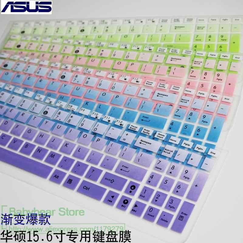 Para Asus VivoBook Pro N752VX N752V n751jx n751jk N751 n750jk n750jv n750j n750 17 17.3 polegada Tampa Do Teclado Protetor Da Pele