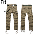 Pockets Military Cargo Pants Men Overalls Long Cotton Casual Tousers 29-40 #161962