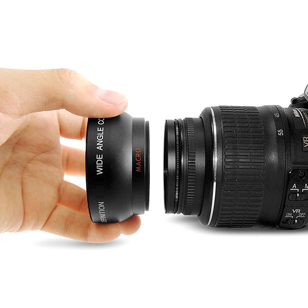 YIXIANG YENİ HD 37MM 0.45x Canon Nikon Sony Pentax 37MM DSLR Kamera - Kamera və foto - Fotoqrafiya 5