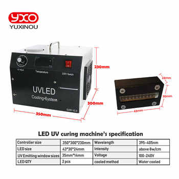 1pcs 80w LED UV LED Curing System For Epson Printer DX5 Print UV Head Screen Printing Machine UV Flatbed Printer,UV Glue Curing
