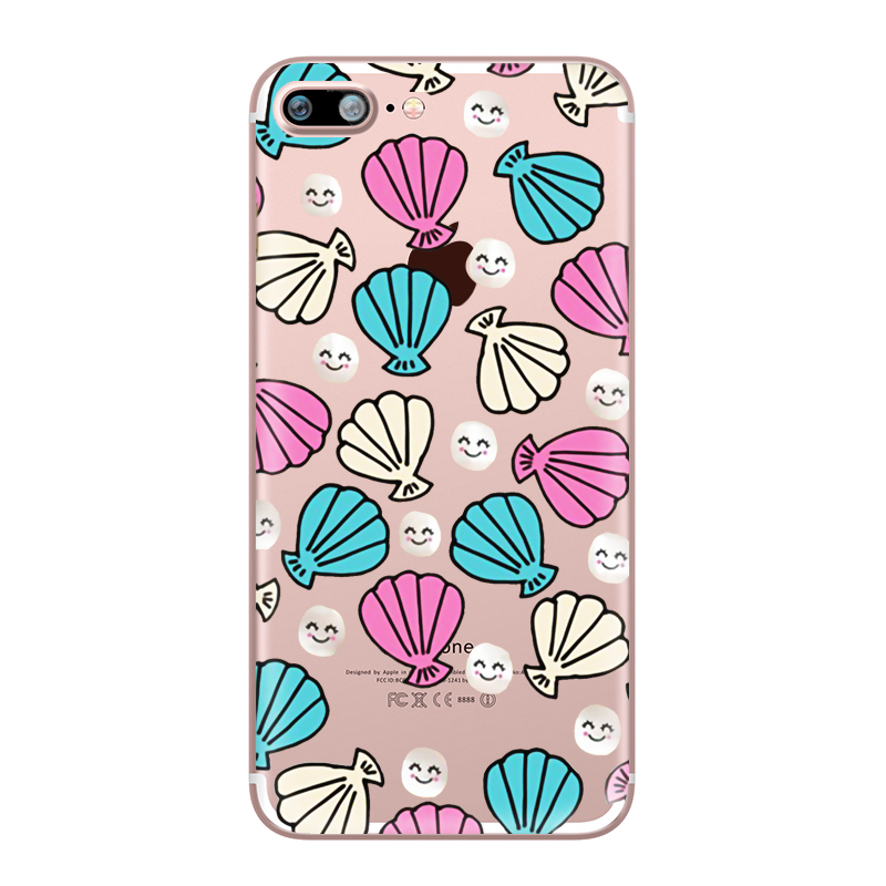 Flower Love Cherry Blossoms Rose Flowers for iphone 7 6 X 6S 8 PLUS SE 5S 7plus Silicon Clear TPU Transparent Capinha Case Funda (4)