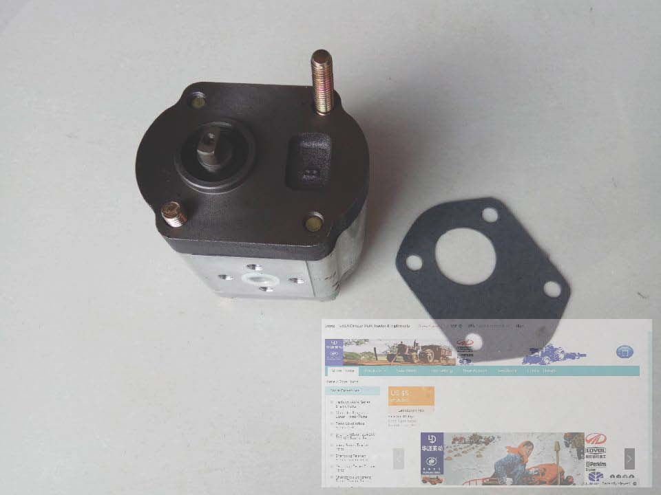 Foton Lovol FT304, 404 tractor parts, the hydraulic pump, part number: FT300.58A.020 б у foton bj1049
