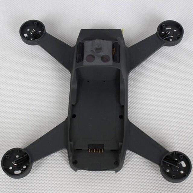 ללא מנוע Drone מסגרת תחביב שיכון חלפים שיפוץ התיכון מעטפת מתכת גוף כיסוי תיקון קל להתקין עבור DJI ניצוץ