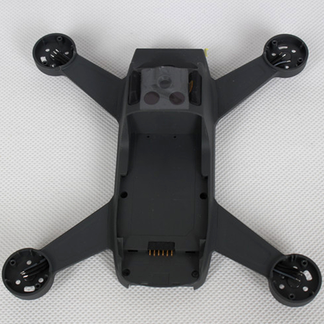 Without Motor Drone Frame Hobby Housing Replacement Parts Refit Middle Shell Metal Body Cover Repair Easy Install For DJI Spark