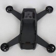 Zonder Motor Drone Frame Hobby Behuizing Vervangende Onderdelen Refit Midden Shell Metalen Body Cover Reparatie Eenvoudig Installeren Voor Dji Spark