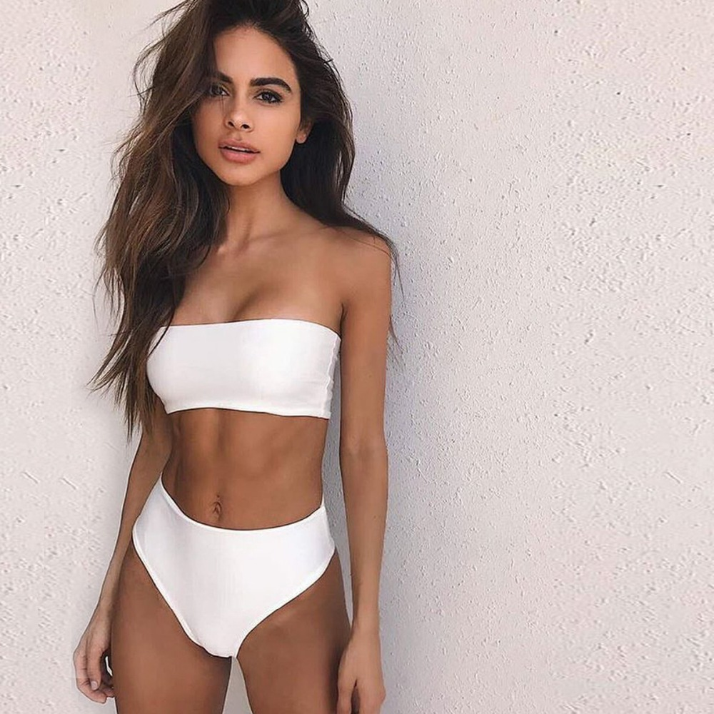 2017 New bathing Suits Women Evage Pitaya Wire Free  Low Waist Polyester bathing suit 1